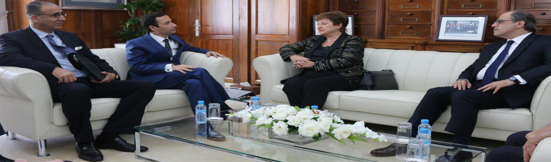 Meeting of the Managing Director of the IMF with the Minister